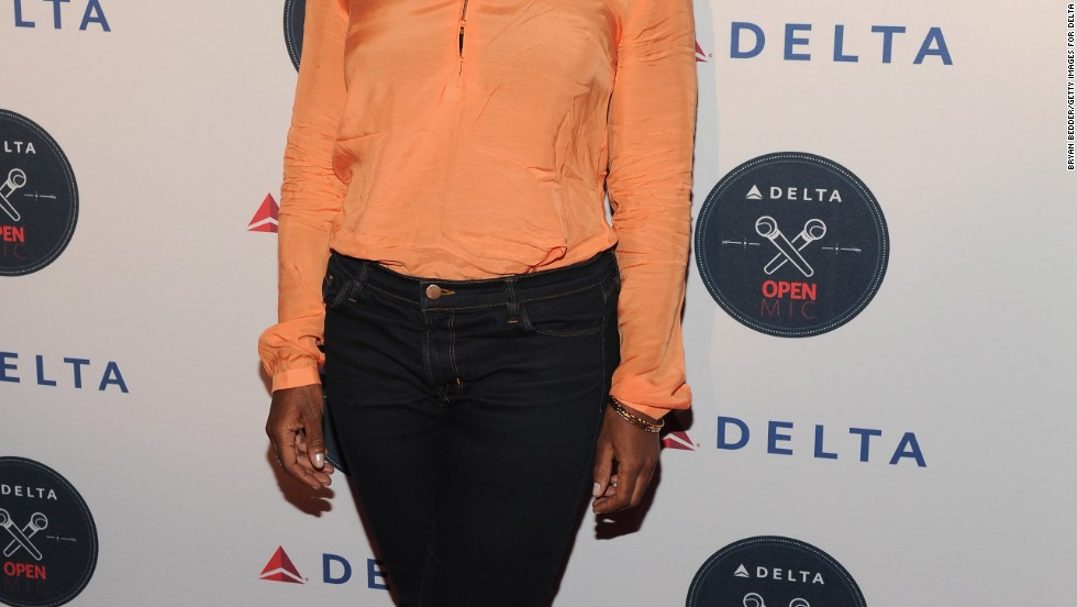 Uzo Aduba enjoys a night out in New York City on August 20.