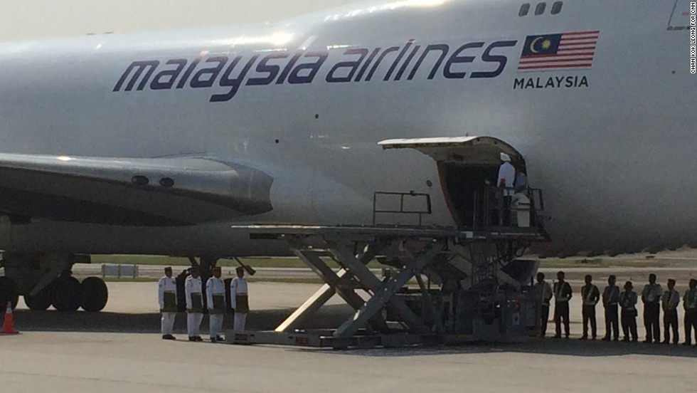 The remains of 20 passengers were repatriated on a specially chartered plane which arrived in Kuala Lumpur early Friday morning.