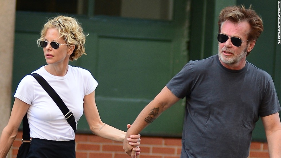 "John Mellencamp and Meg Ryan <a href=""http://www.closerweekly.com/posts/meg-ryan-john-mellencamp-split-a-couple-of-weeks-ago-41910"" target=""_blank"">reportedly ended their three-year relationship</a> in August 2014."