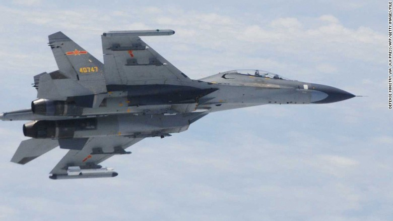 Russia fighter jet flies 5 feet of US aircraft