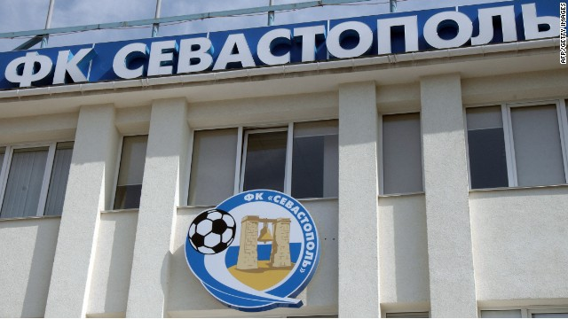 FC Sevastopol played in the Ukrainian league system last season, until Crimea's annexation.