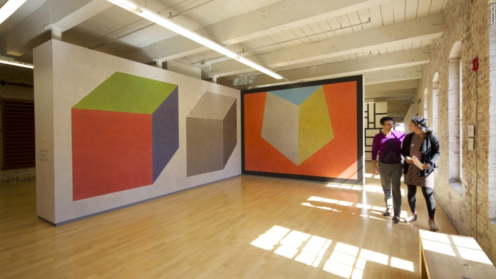 Mass MoCA's 13-acre campus is made of up of repurposed 19th-century brick buildings that now feature raw space for larger-than-life installations in visual, music, dance, film and theater arts.