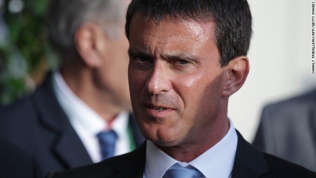 French Prime Minister Manuel Valls is pictured before the World Equestrian Games 2014's opening ceremony on August 23, 2014 in Caen, northwestern France.