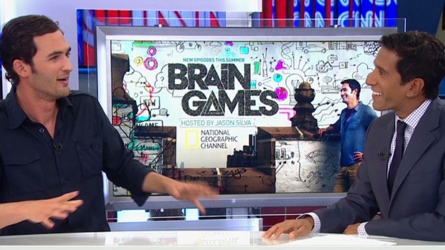 Dr. Sanjay Gupta plays 'Brain Games'