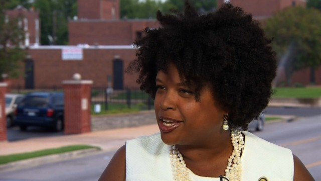 Missouri State Sen. Maria Chappelle-Nadal and other Democratic lawmakers are filibustering to block a bill they say discriminates against same-sex couples.