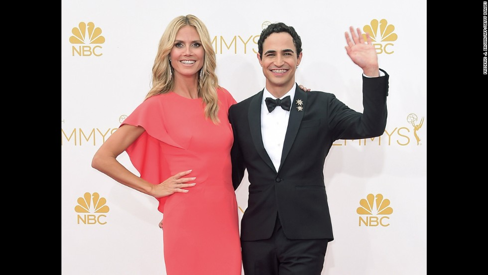 "Heidi Klum and Zac Posen (""Project Runway"")"