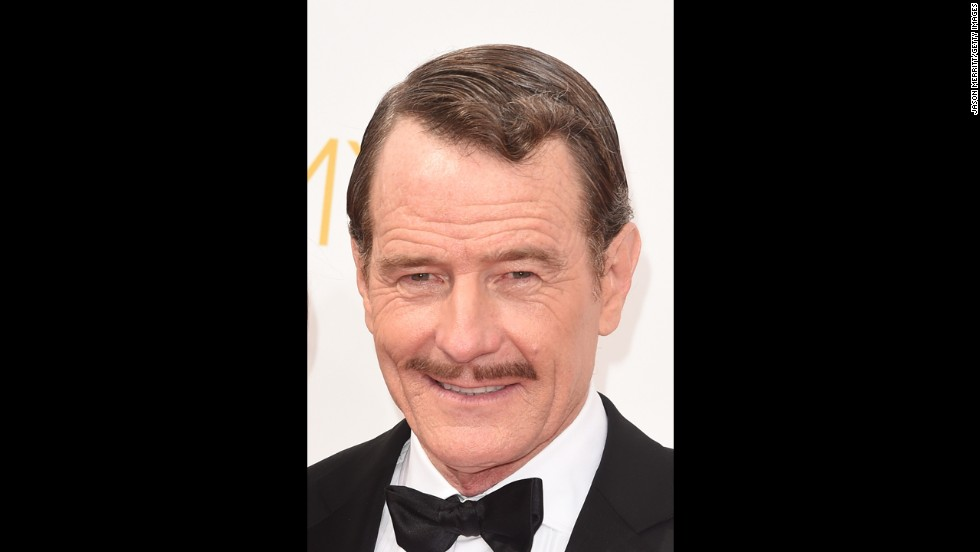 "Bryan Cranston looked dapper in 2014, the last year of eligibility for ""Breaking Bad."""