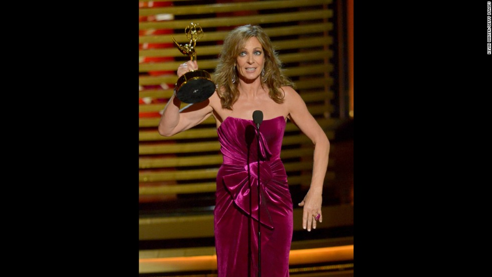 "Outstanding Supporting Actress in a Comedy Series: Allison Janney, ""Mom"""