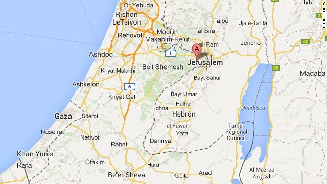 Map: Jerusalem