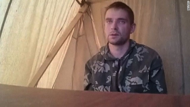Ukraine: Russians captured in east