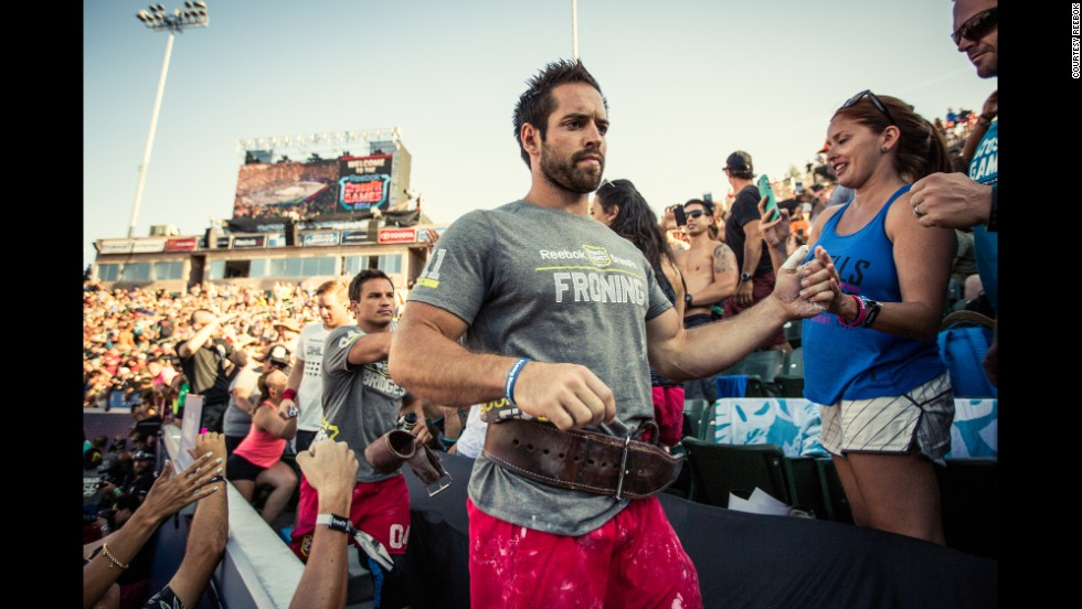 In July, Rich Froning took on thousands of athletes at the 2014 CrossFit Games.