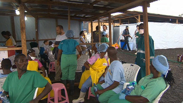 Ebola doctors volunteer despite risk