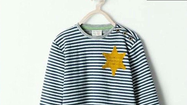 Zara's shirt resembles 'holocaust uniform'