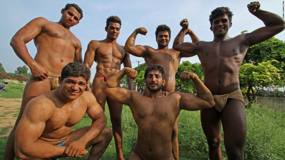 man india village nude
