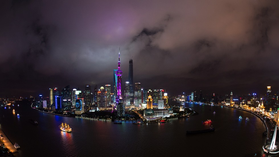 Lujiazui Financial District in the Pudong area of Shanghai looks set to gain even more strength as the Chinese economy booms.