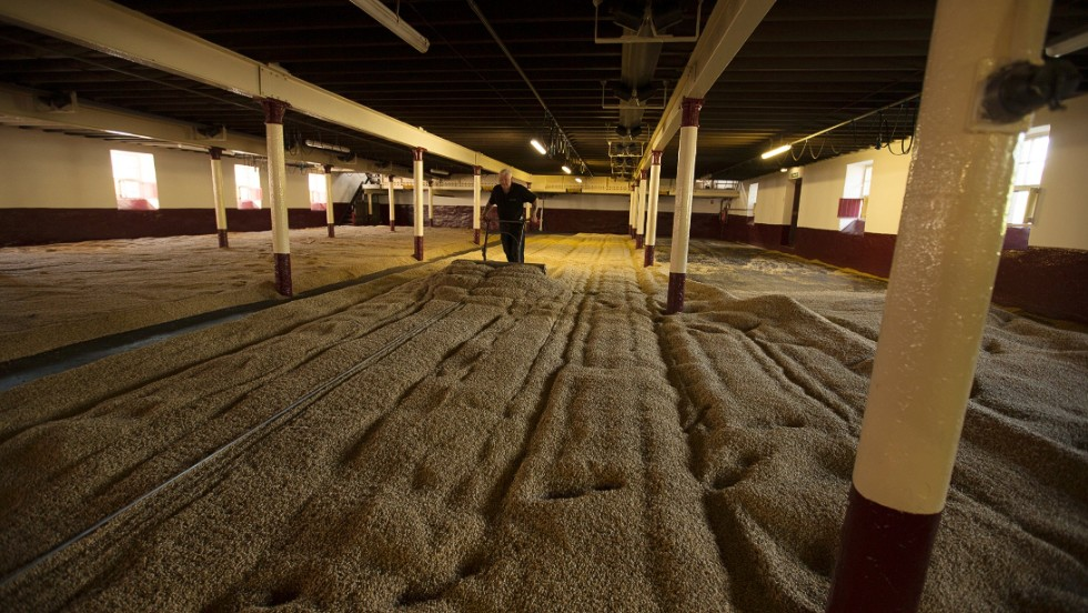 The Balvenie is the only distillery to maintain and operate a working floor maltings in the Scottish Highlands.