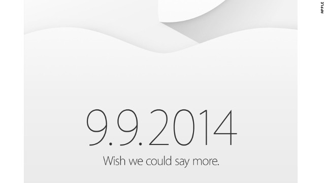 Apple's invitation to a Sept. 9 iPhone event teases more -- possibly a long-awaited smartwatch.