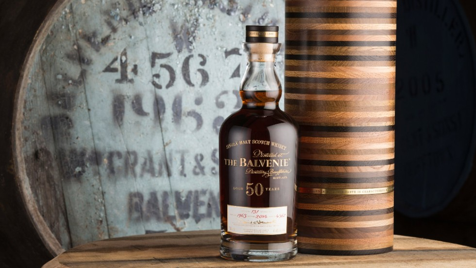 A 50-year-old whisky costing £25,000 ($40,800) has recently been released by The Balvenie distillery in Scotland.