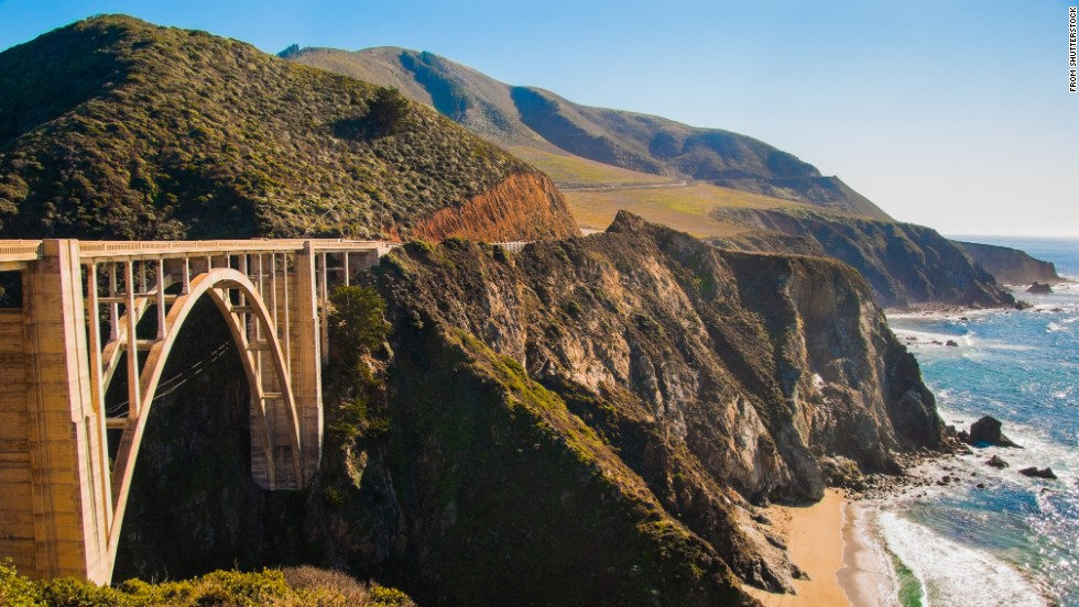 Head to Big Sur via breathtaking Highway 1. The stunning coastal stretch is dotted with scenic beaches.
