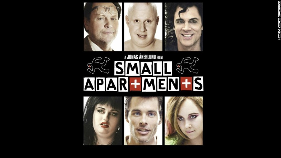 "<strong>""Small Apartments"" (2012)</strong>: What do a dead landlord, an investigator and a letter have in common? The answer is this adaptation of Chris Millis' novel starring (clockwise from top left) Billy Crystal, Matt Lucas, Johnny Knoxville, Juno Temple, James Marsden and Rebel Wilson. (<strong>Netflix</strong>)"