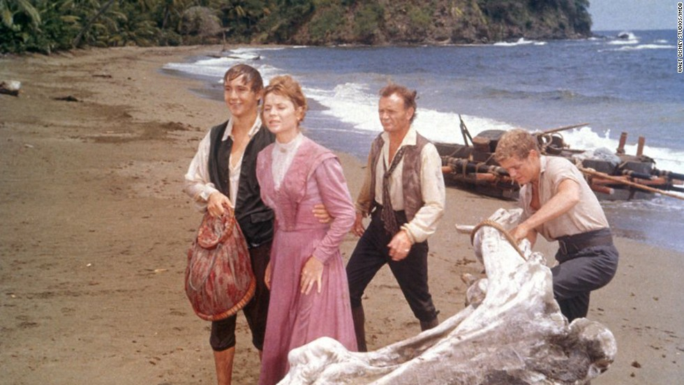 "<strong>""Swiss Family Robinson"" (1960)</strong>: This classic adventure film is fun for the whole family. It's about a shipwrecked family that must fight to survive on the island where they find themselves stranded."
