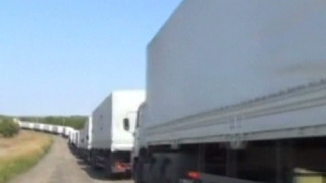Russian convoy move raises tensions