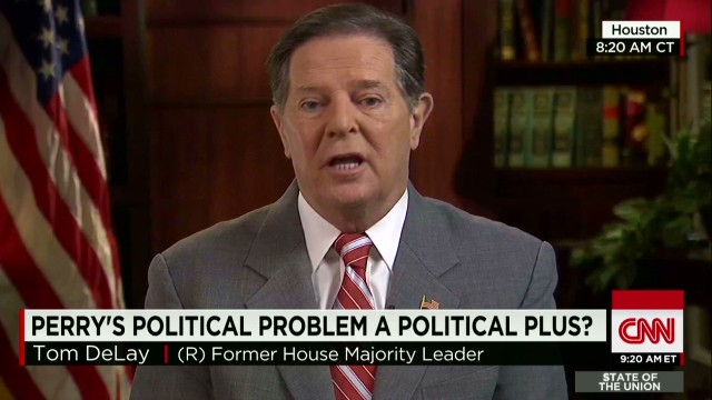 sotu crowley tom delay on rick perry indictment in texas_00014022.jpg