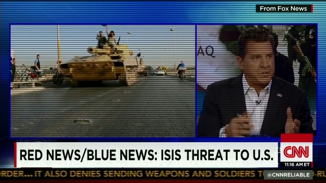 Red News/Blue News: ISIS threat to U.S .