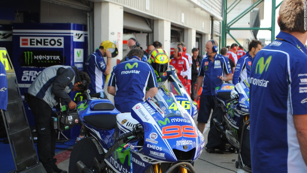 Movistar Yamaha had a strong weekend at Silverstone, with both Lorenzo and Rossi finishing on the podium.