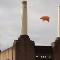 Battersea power station flying pig