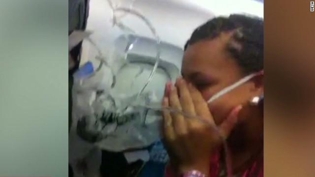 newday romans flights oxygen masks unruly passenger _00000515.jpg