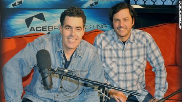 Adam Carolla and exfriend settle podcast case  CNN