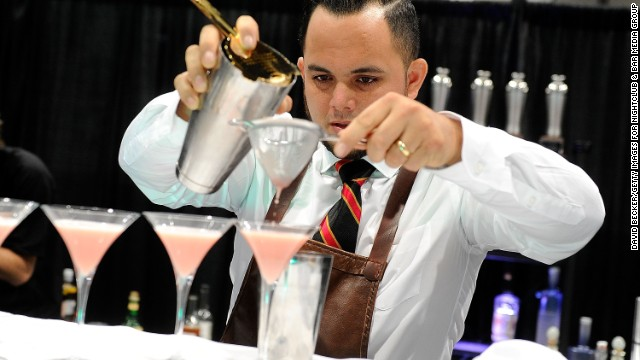 Are mixologists glorified bartenders or true drink masters?