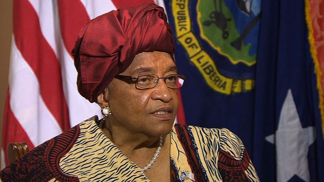 elbagir ebola liberia president ellen johnson sirleaf intv_00010030.jpg