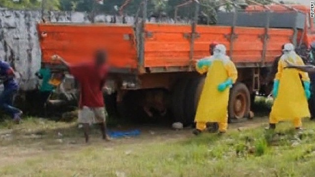 Man escapes Ebola clinic in Liberia