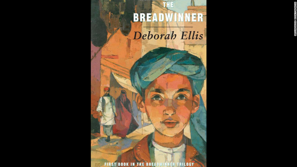"""The Breadwinner"" by psychologist Deborah Ellis, recommended for ages 10+, is based on true stories of girls and women in Afghan refugee camps in Pakistan and Russia."