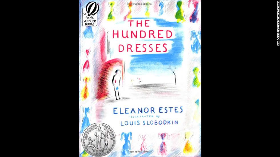"""The Hundred Dresses"" by Eleanor Estes, recommended for ages 8+, tackles bullying head on, when a Polish girl in a Connecticut school is made fun of for wearing the same dress every day."