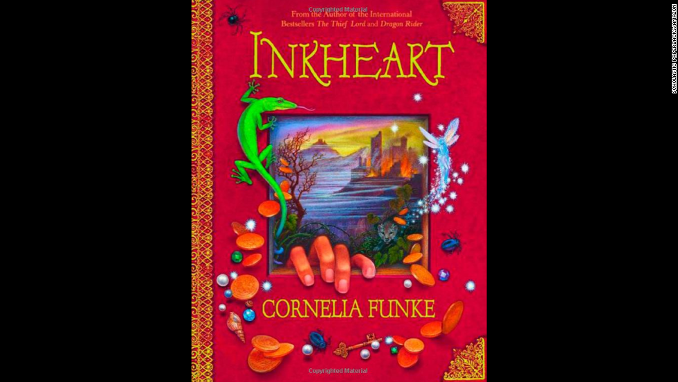 """Inkheart"" by Cornelia Funke, recommended for ages 9+, is a YA fantasy novel and the first installment of the ""Inkheart"" trilogy."