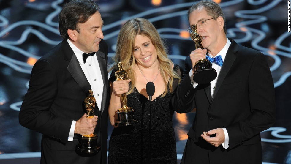 "The awards haven't just been financial. ""Frozen"" won two Oscars, including best animated feature. It was accepted by producer Peter Del Vecho and directors Jennifer Lee and Chris Buck."