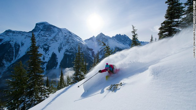 Once you've powdered through these mountains, even Whistler will lose its rush.