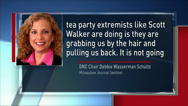 DNC: Tea party 'grabbing us by the hair'