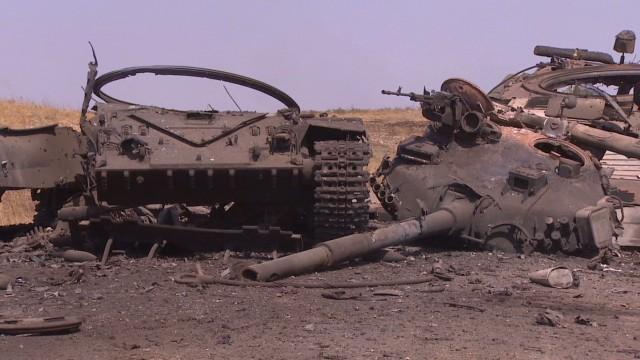 Ukraine fighting on the ground