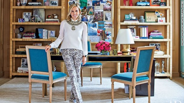 How Tory Burch Works It