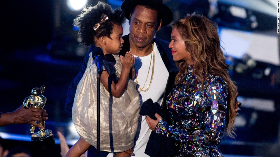 "At the 2014 MTV Video Music Awards, Beyonce was awarded <a href=""http://www.cnn.com/2014/08/07/showbiz/celebrity-news-gossip/beyonce-mtv-video-music-awards/"" target=""_blank"">with the Michael Jackson Vanguard Award,</a> which is given to ""exemplary musicians who have made an incredible and long-lasting impact on pop culture."" The singer accepted the award on August 24 from her husband, Jay Z, and daughter, Blue Ivy."