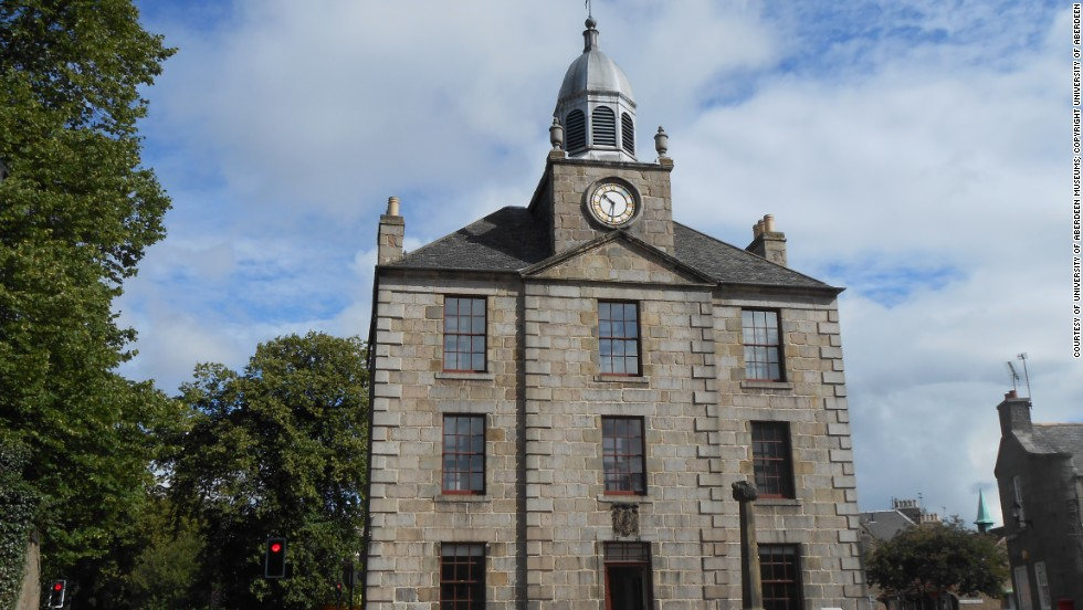 The Old Town House in Aberdeen was once the center of the busy merchant town.