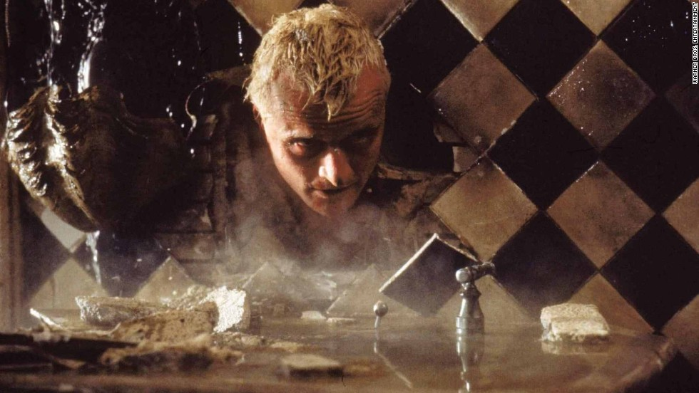 "In ""Blade Runner,"" Rutger Hauer plays Roy Batty, a replicant, which is a bioengineered android that looks indistinguishable from humans."