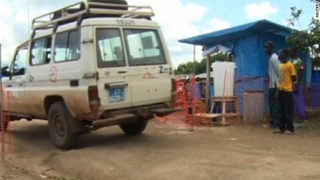DR Congo tracking at risk Ebola patients