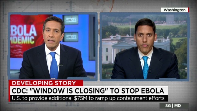 CDC: 'Window is closing' to stop Ebola