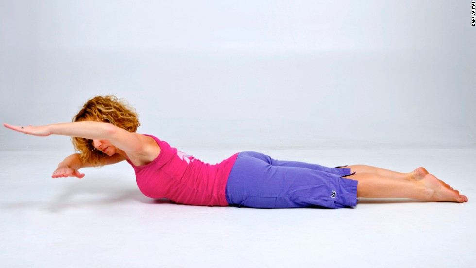 The turn signal pose strengthens the core, back and neck muscles, while restoring shoulder girdle function and alignment.