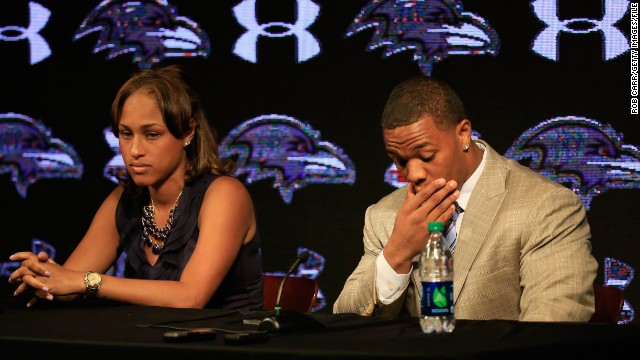 Ray Rice: I'm holding strong for my wife